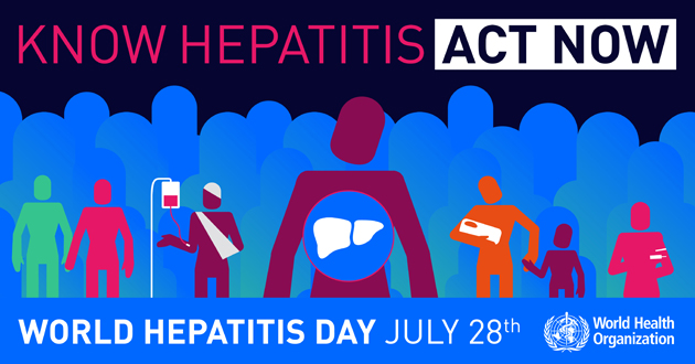 Know Hepatitis Act Now World Hepatitis Day July 28th