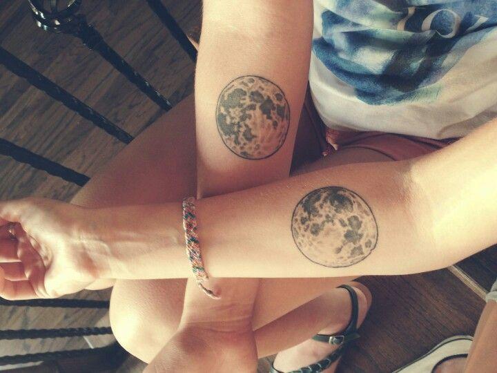 30 Full Moon Tattoos Ideas