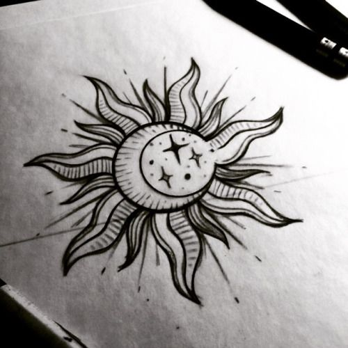 70+ Latest Sun Tattoos Ideas With Meanings