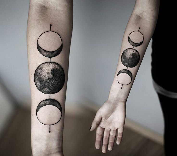 813f730866bdc 70+ Moon Tattoos Ideas With Meanings