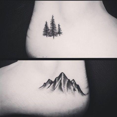 Christmas Tree Tattoo Small.81 Pine Tree Tattoos And Ideas