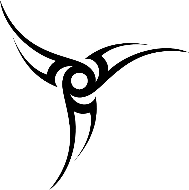 66+ Tribal Star Tattoos Designs With Meanings