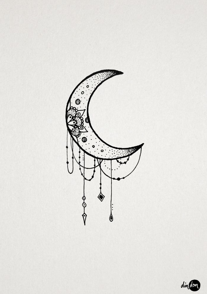64 beautiful crescent moon tattoos with meaning. Black Bedroom Furniture Sets. Home Design Ideas