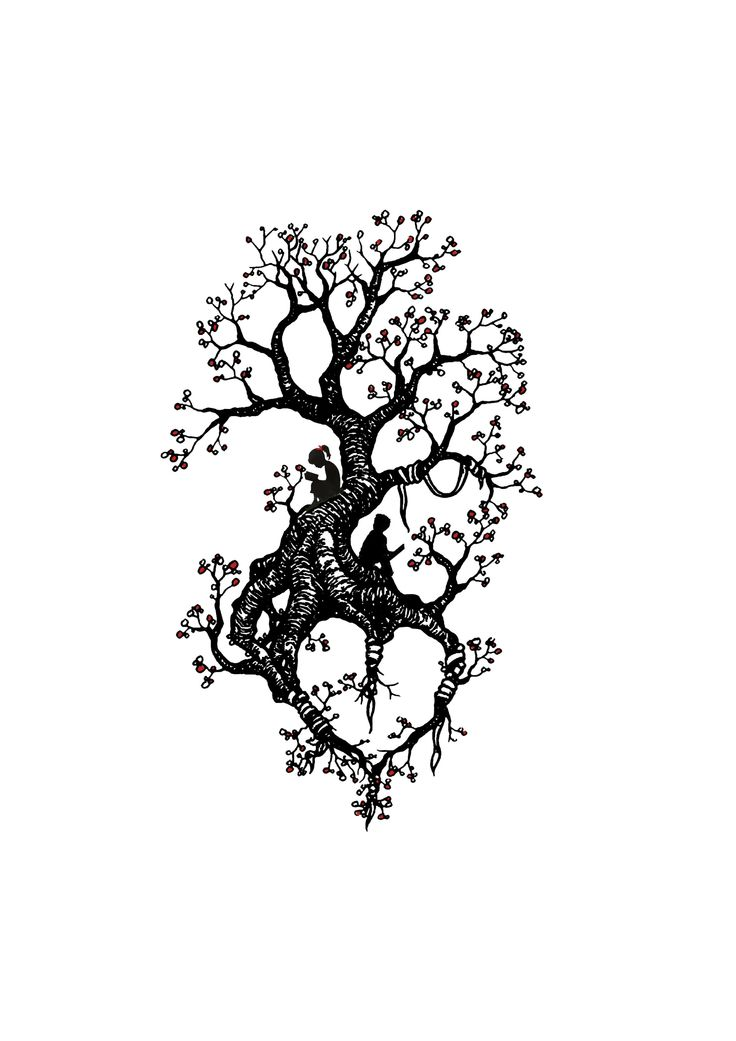 nice tree tattoo design