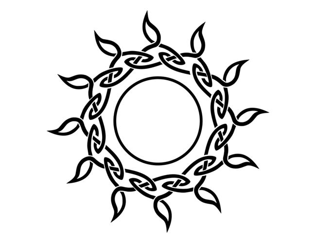 55+ Celtic Sun Tattoos Designs And Pictures With Meanings