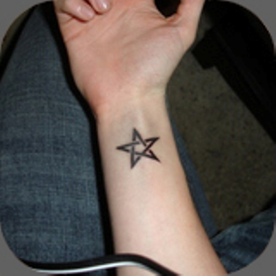 41 Pentagram Star Tattoo Pictures With Meanings