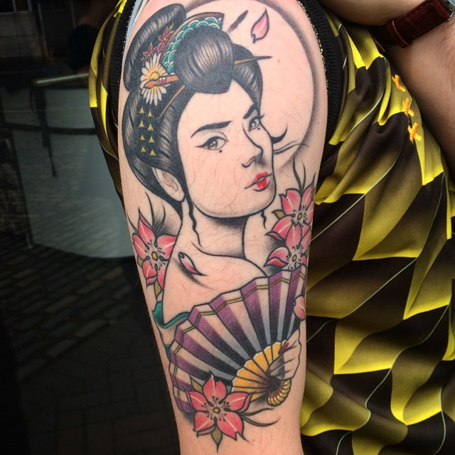 Japanese Tattoos Designs Ideas And Meaning: 52+ Japanese Geisha Tattoos Ideas And Meanings