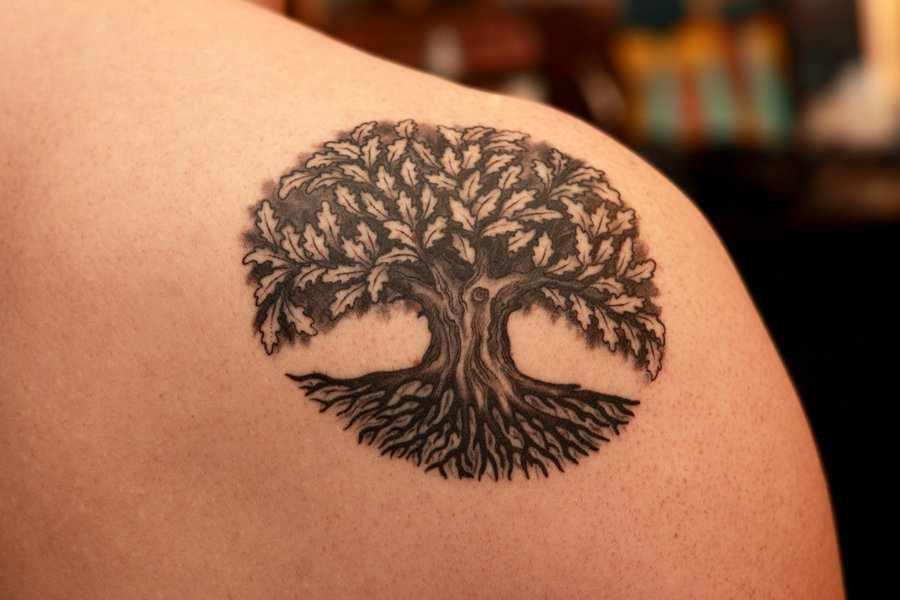 f09b5ccb0 Small Tree Of Life Tattoo Ideas
