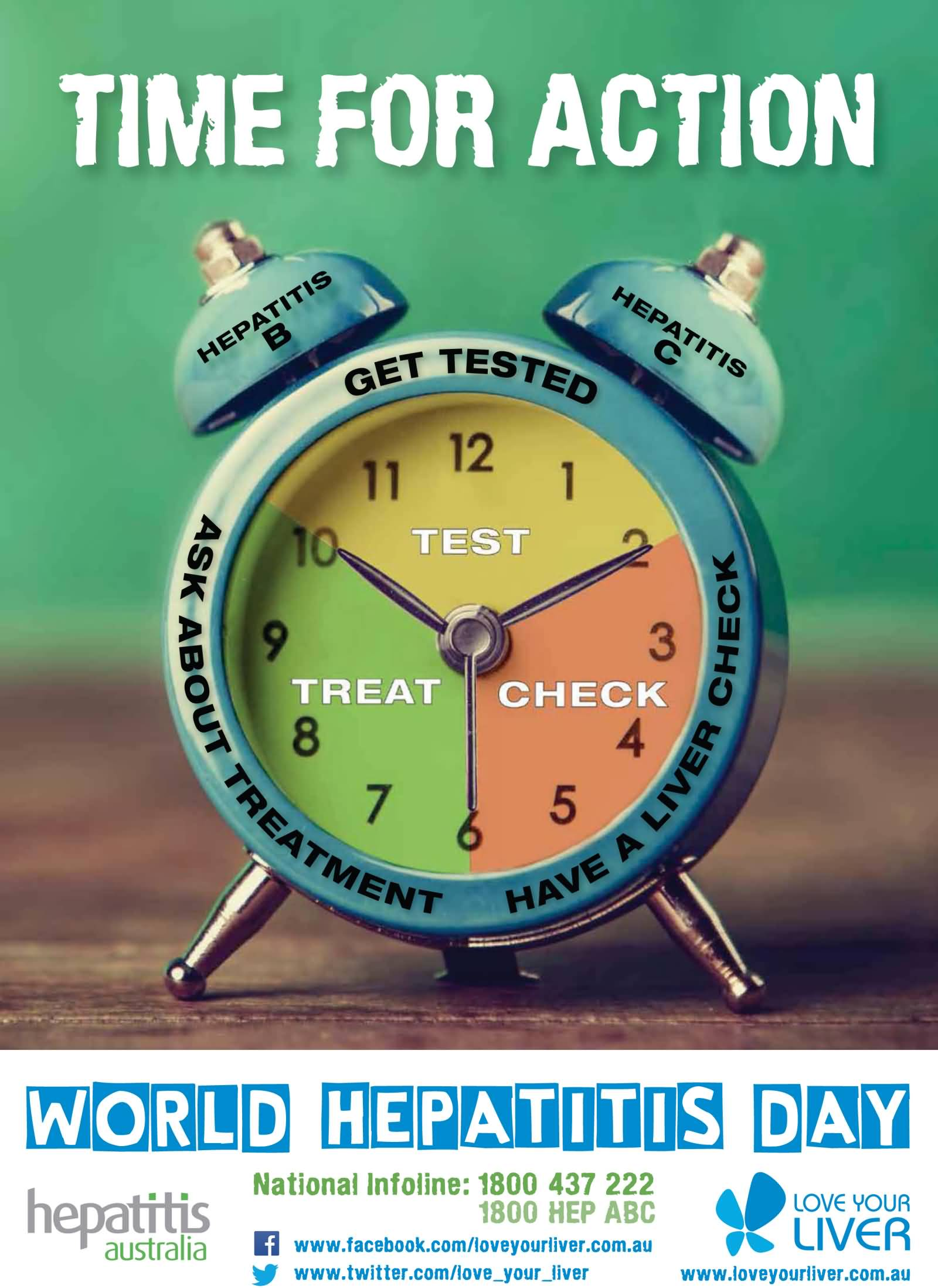 Time For Action Test Teat Check - World Hepatitis Day