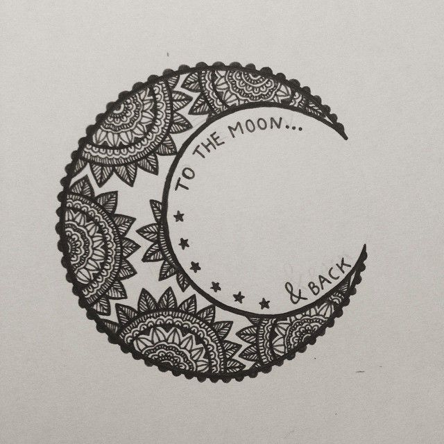2e057a3af 70+ Moon Tattoos Ideas With Meanings