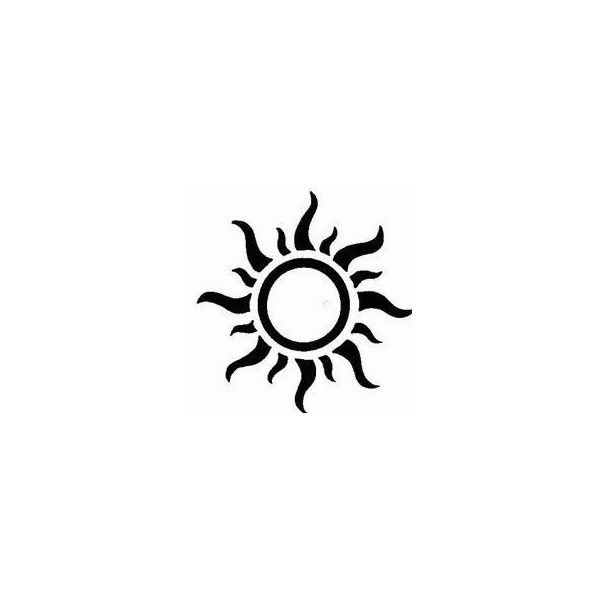 52+ Small Sun Tattoos Designs And Ideas