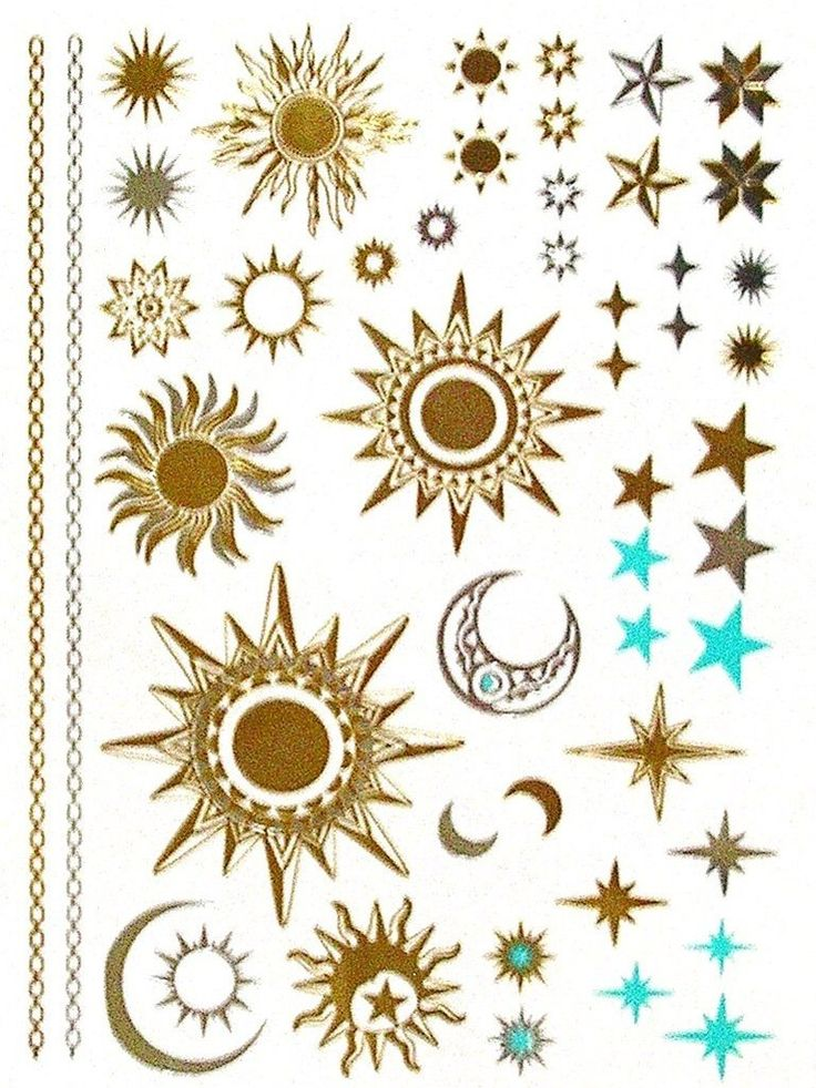 5a35508216ca4 60+ Star And Sun Tattoos Ideas With Meaning