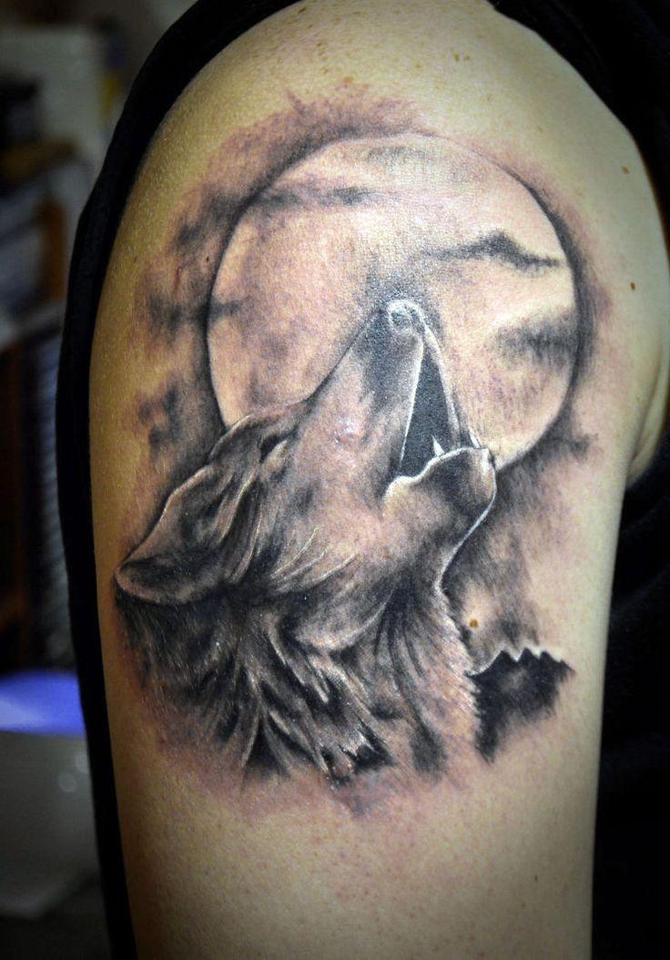 30 full moon tattoos ideas for Full head tattoo