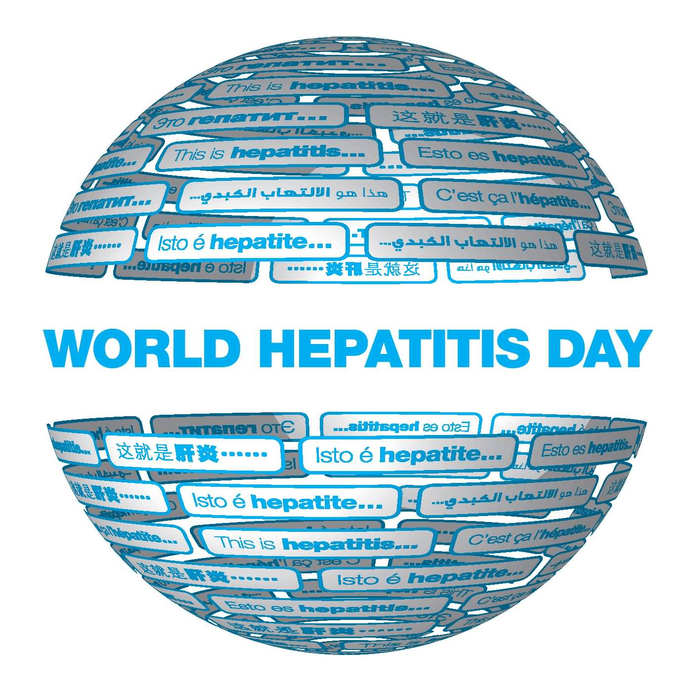 World Hepatitis Day Globe Picture