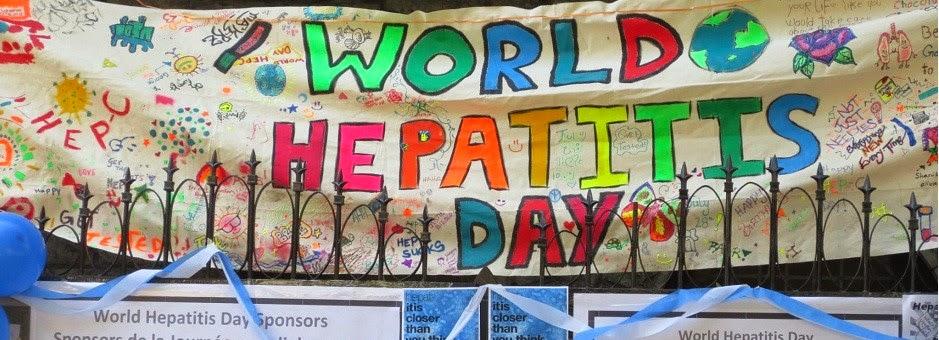World Hepatitis Day Painting