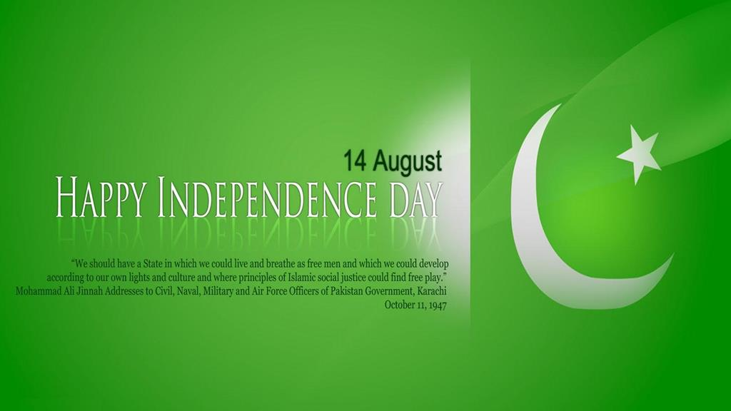 14 August Happy Independence Day Pakistan Greetings
