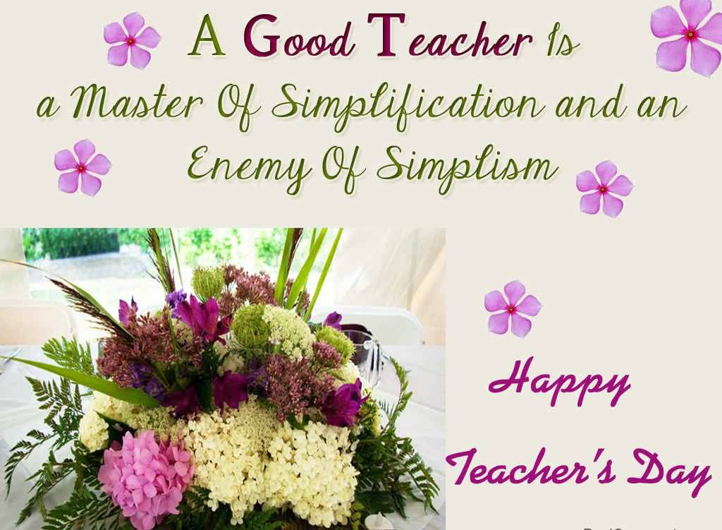 40+ All Time Best Teachers Day 2017 Wish Pictures And Images
