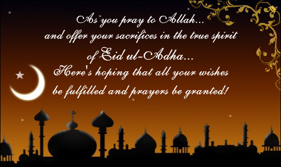 65 best eid ul adha 2016 greeting photos and images as you pray to allah and offer your sacrifices in the true spirit of eid al adha m4hsunfo