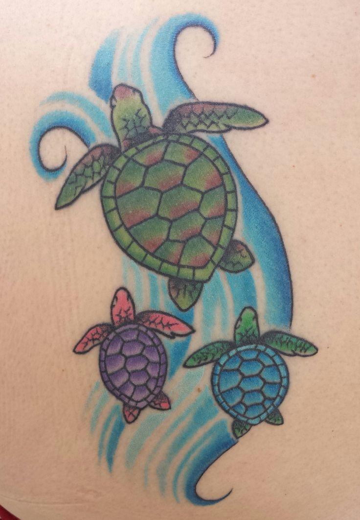 75+ Awesome Sea Turtle Tattoos