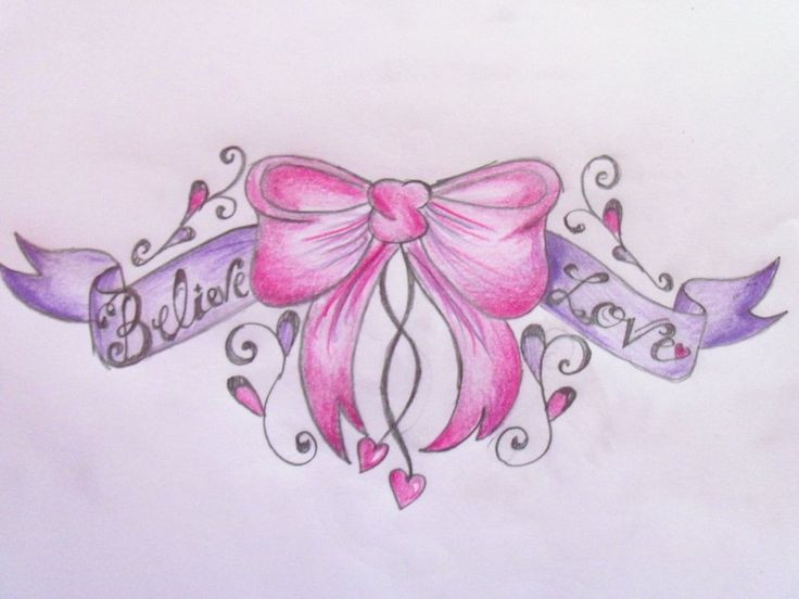 62+ Best Bow Tattoos Ideas For Girls And Women