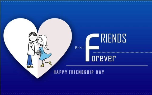 Captivating Best Friends Forever Happy Friendship Day Greeting Card