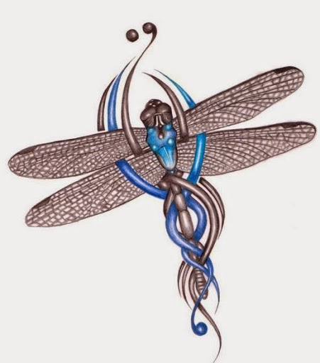 41 Celtic Dragonfly Tattoo Ideas