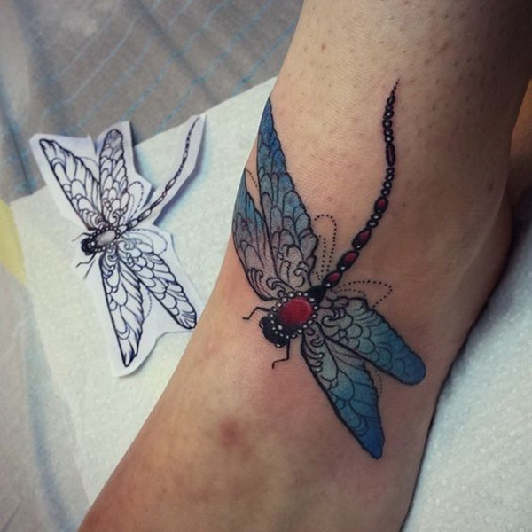 80+ Meaningful Dragonfly Tattoos Ideas