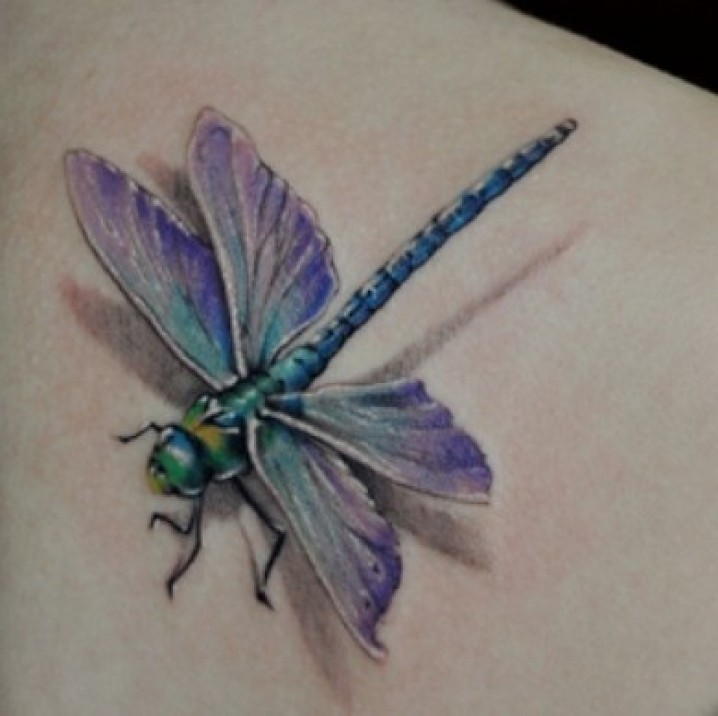 80 meaningful dragonfly tattoos ideas