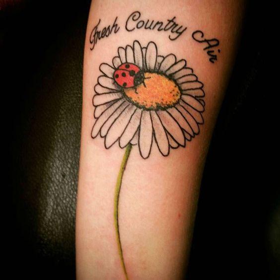 55+ Beautiful Daisy Flowers Tattoos