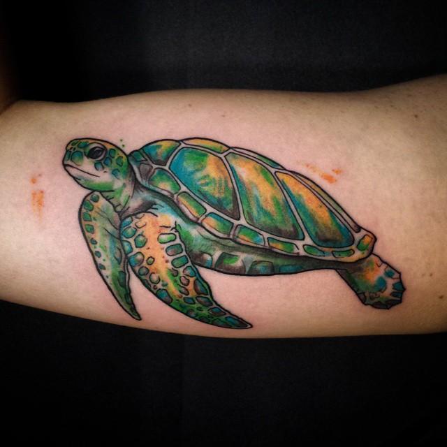 72 meaningful turtle tattoos ideas