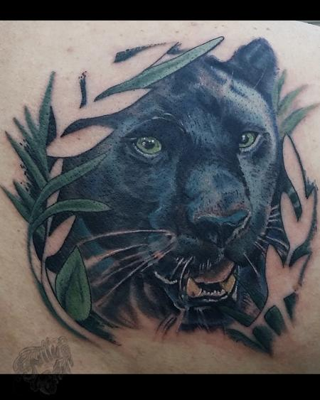52 realistic panther tattoos ideas and meanings. Black Bedroom Furniture Sets. Home Design Ideas