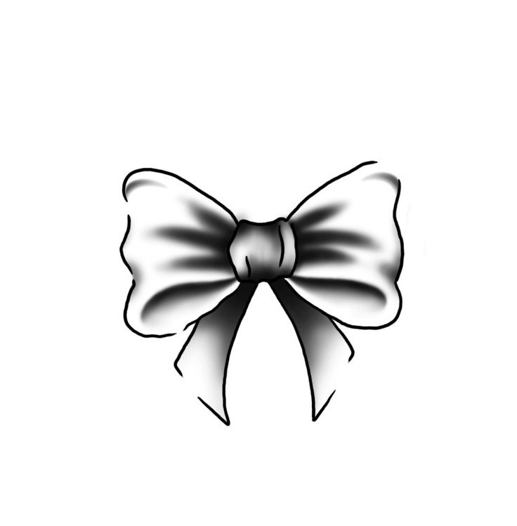 2 simple bow tattoo designs and idea. Black Bedroom Furniture Sets. Home Design Ideas