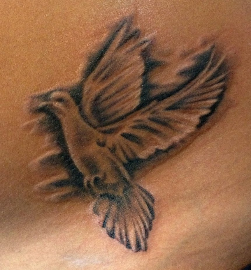 70 Best Dove Tattoos Ideas And Designs With Meaning
