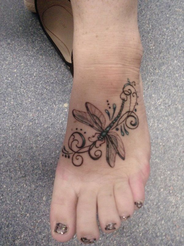 80 meaningful dragonfly tattoos ideas. Black Bedroom Furniture Sets. Home Design Ideas
