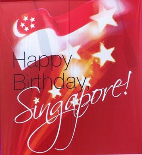 Happy Birthday Singapore Card