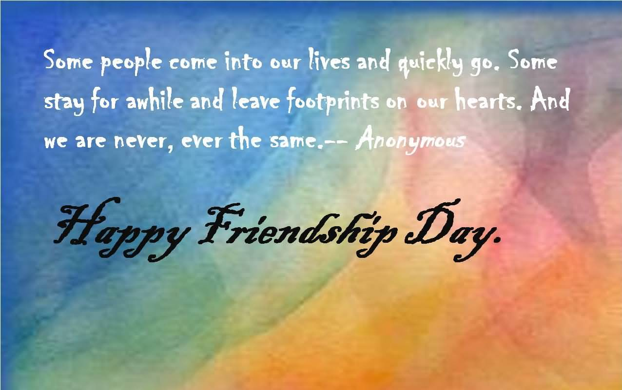 Beautiful Quotes About Friendship Happy Friendship Day 2017 Quote