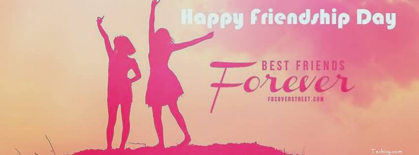 Happy Friendship Day Best Friends Forever Facebook Cover Picture