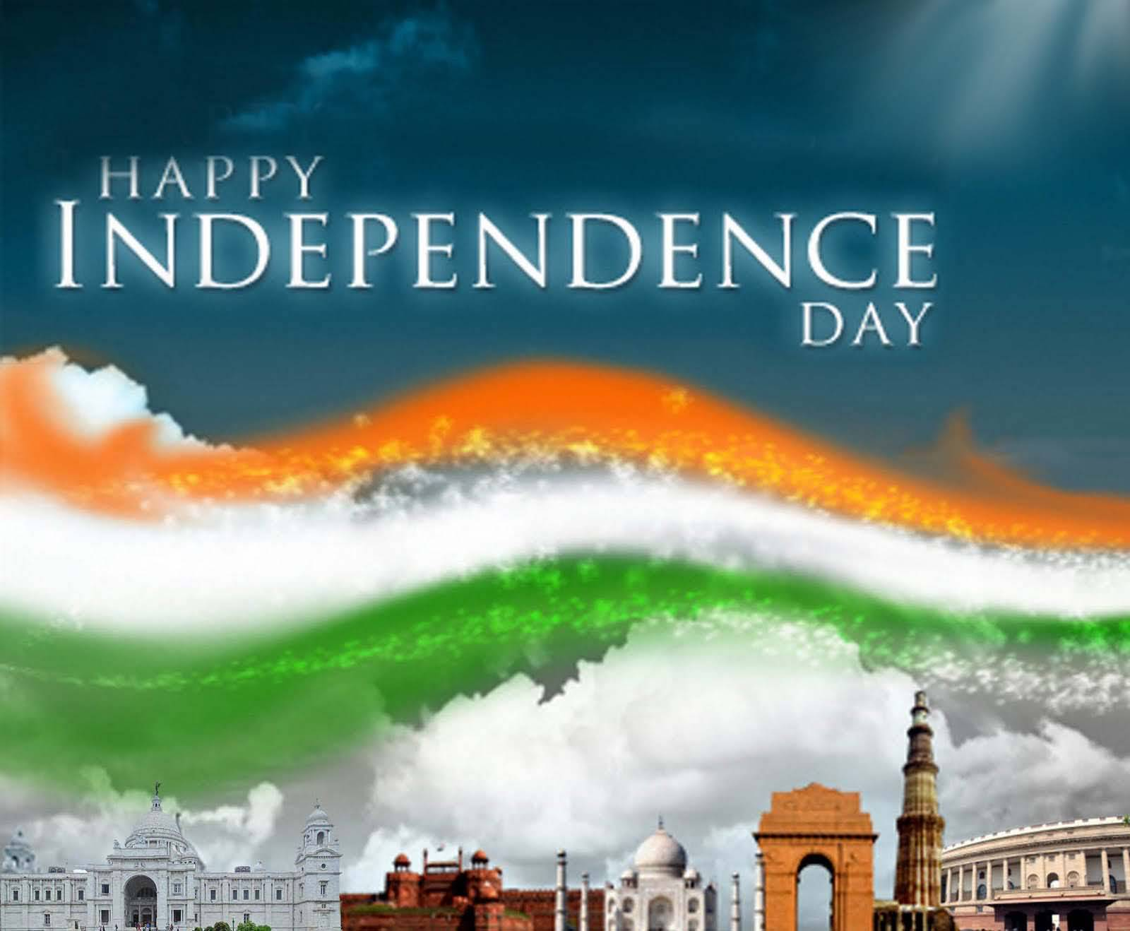 Happy Independence Day Greetings Wallpaper