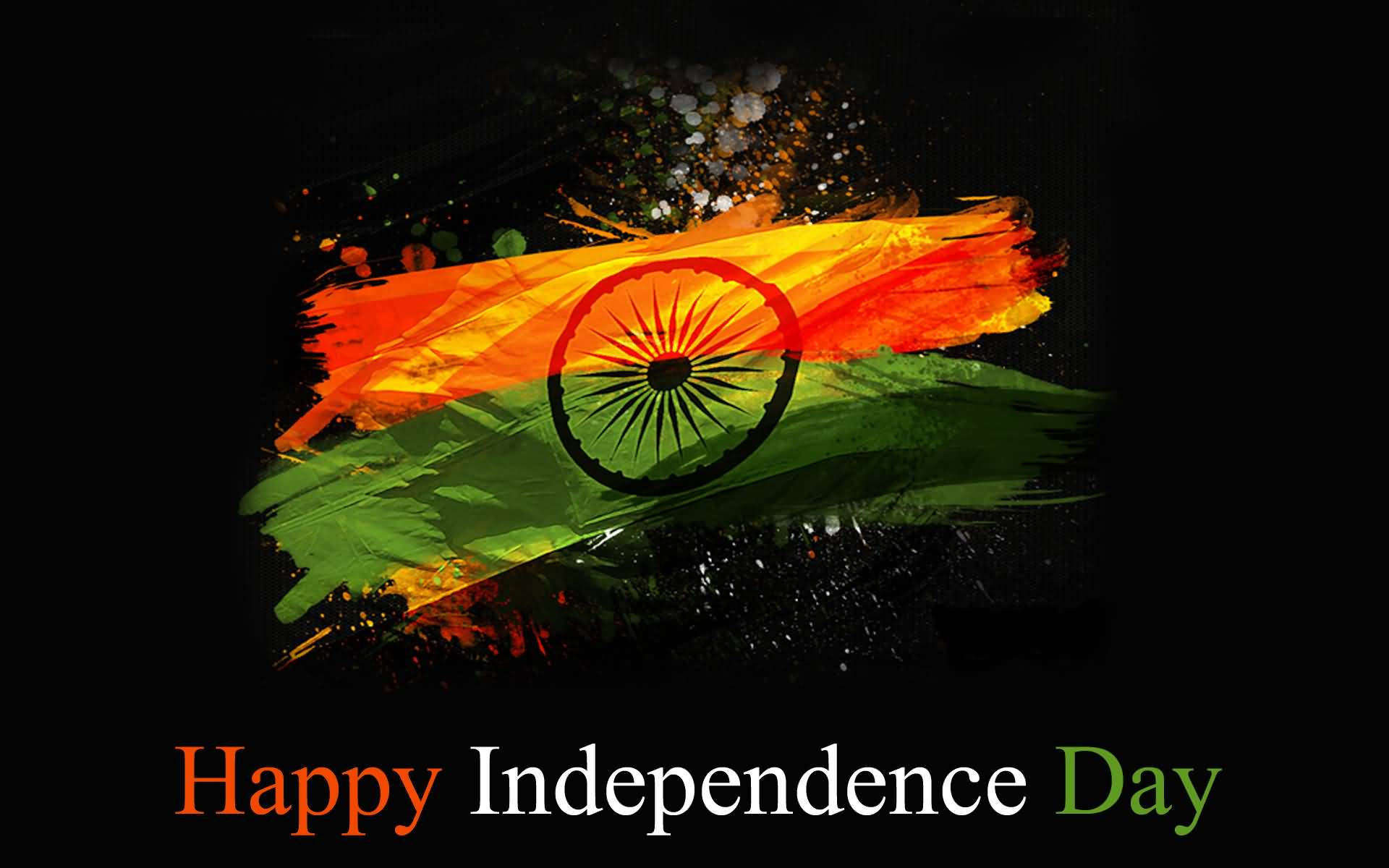 Happy Independence Day Indian Flag Wallpaper