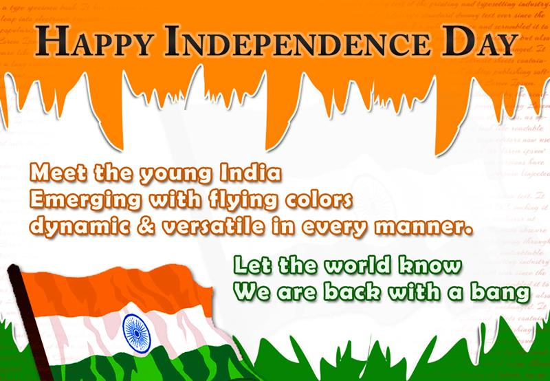 happy independence day wish pictures happy independence day let the world know we are back a bang