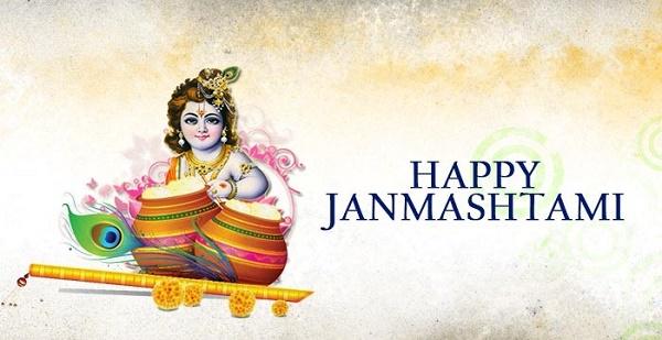 Happy Janmashtami Lord Krishna Picture