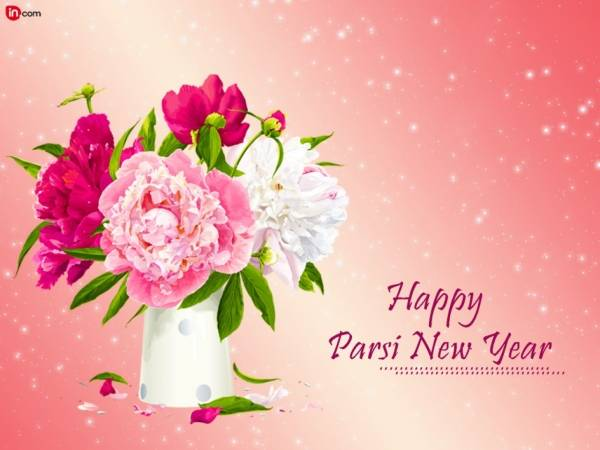 Happy Parsi New Year Flowers For Yoiu