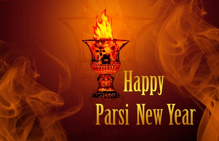Happy Parsi New Year Lamp Picture
