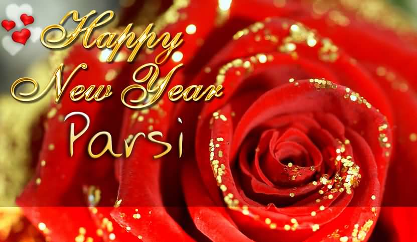 Happy Parsi New Year Rose Flower Picture
