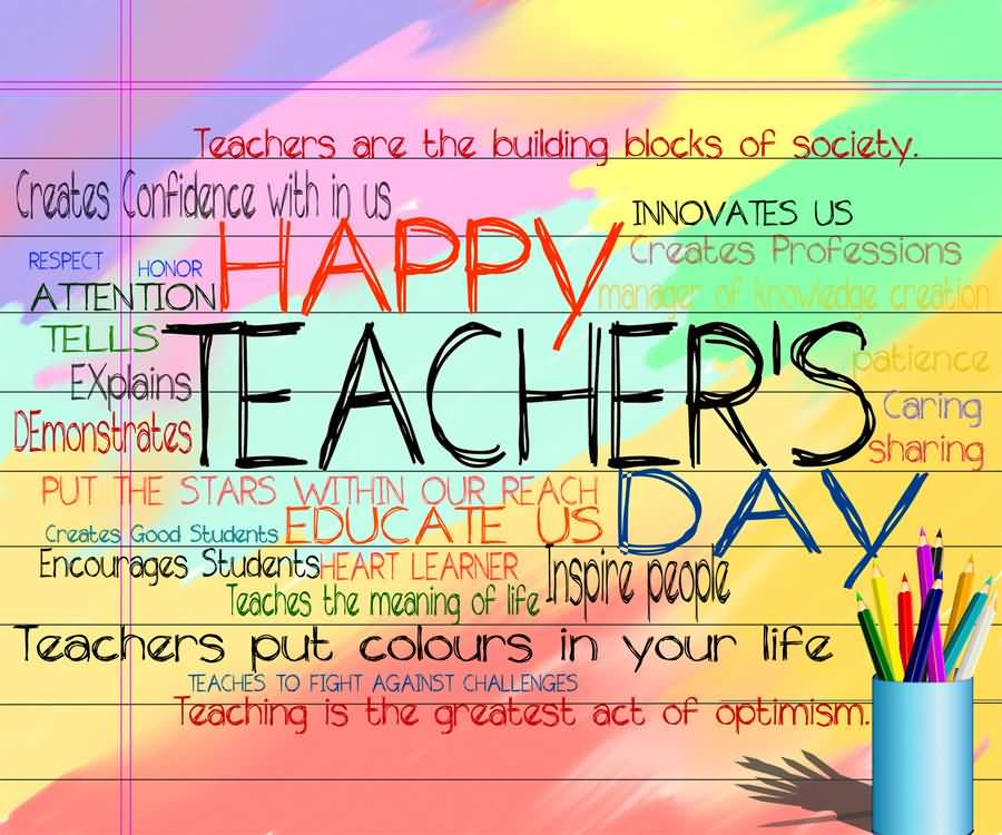 Happy Teacher's Day Beautiful Quotes