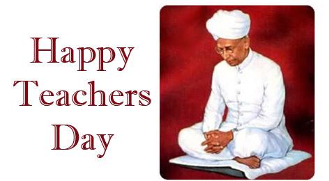 Happy Teacher's Day Dr. Radhakrishnan