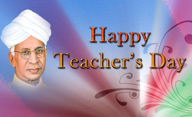 Happy Teacher's Day Radha Krishnan Picture