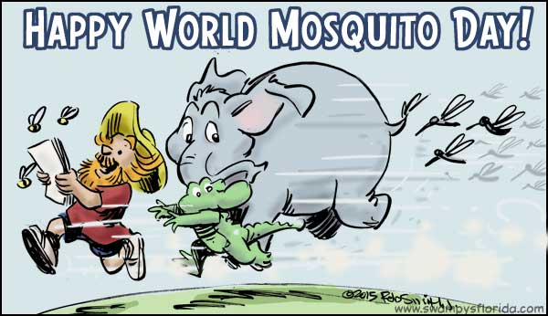 World Mosquito Day Cartoon