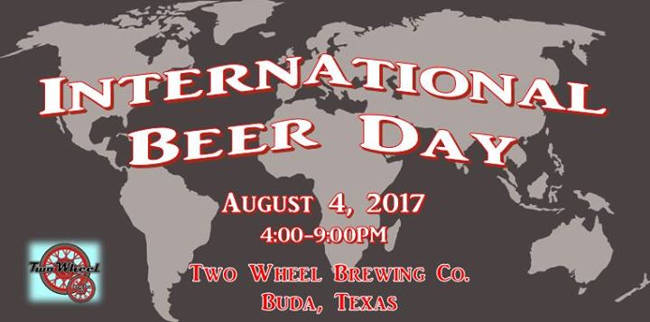 International beer day august 4 2017 world map in background gumiabroncs