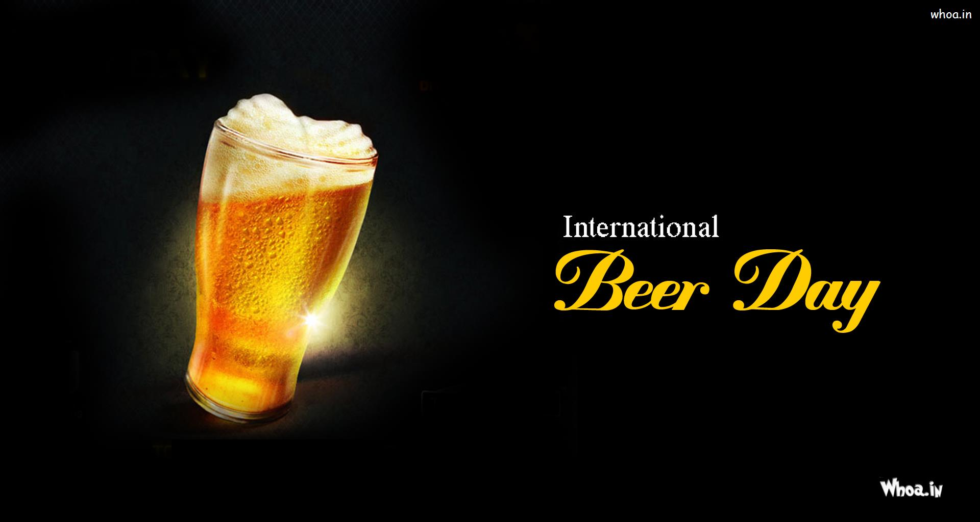 International Beer Day Beer Mug Wallpaper